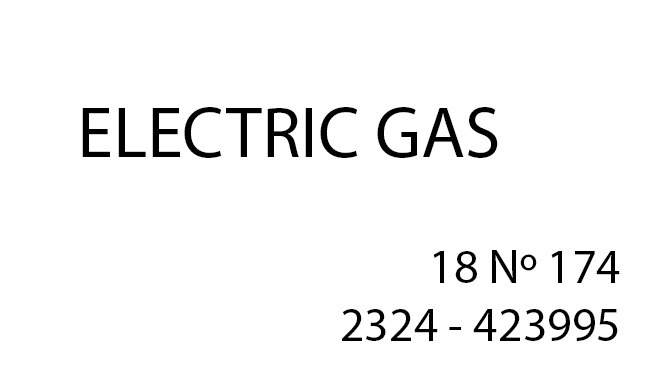 Electric Gas