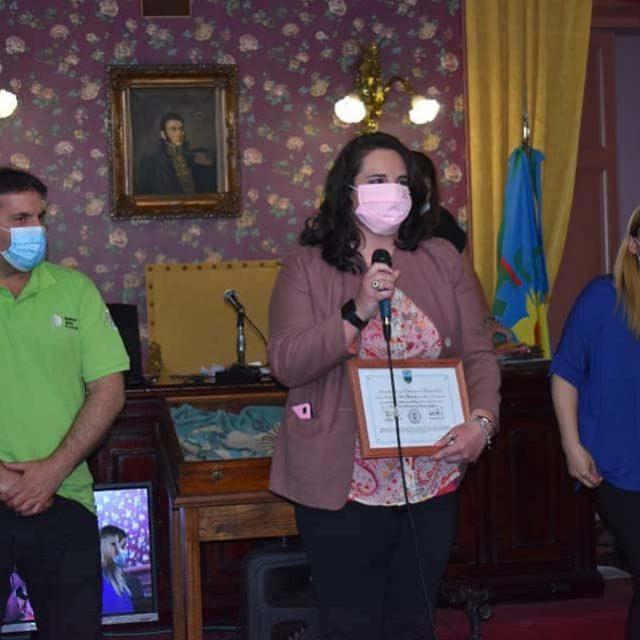 Débora Martinelli fue reconocida por HCDEl Nuevo Cronista