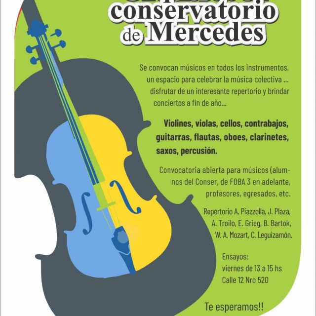 El Conservatorio de Música busca armar su orquesta