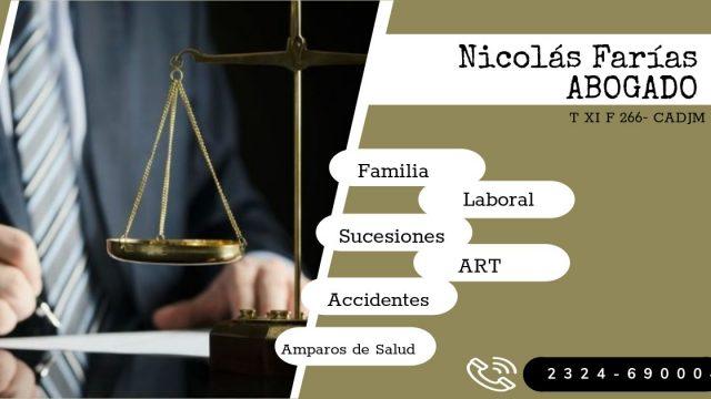 Nicolás Farías – Abogado