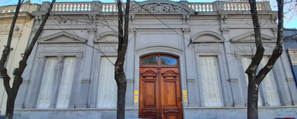 Fachadas mercedinas: ex residencia del Dr. Ojea